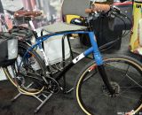 Steel Viaje ready for touring. Volagi's Interbike 2013 offerings. © Cyclocross Magazine