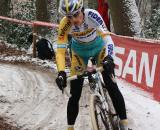 Kevin Pauwels was not at his best in the slippery conditions. ? Dan Seaton