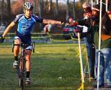 Swiss cyclocross star Valentin Schrez finishes fifth in Southampton and adds to his lead in the MAC Series.  ?Anthony Skorochod
