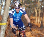 Valentin Scherz rides to a strong fifth place at the Whitmore's Landscaping Super Cross Cup.  ?Tom Olesnevich