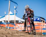 Katie Clouse in the Women's 13-14 USA Cycling National Championship race. © Matt Lasala