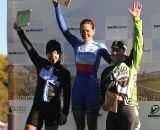 The Women's Podium (L to R): Van Gilder, Nash, Annis © Natalia Boltukhova | Pedal Power Photography | 2011