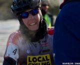 Rebecca Williams post race.   ©Brian Nelson