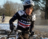 Diane Ostenso, the 60-64 Nat'l Champion at the 2013 Masters World Championships of Cyclocross. © Cyclocross Magazine