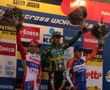 The podium of Nys, Pauwels and Aernouts. ©Thomas van Bracht