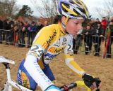 Nikki	 Harris rode a strong race to finish in 7th. ©Thomas van Bracht