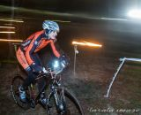 The course was surprisingly well-lit but bike lights were helpful. © Matthew Lasala