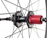 The new 11-speed compatible freehub on Zipp's 303 Firecrest disc brake carbon tubular wheelset. photo: Zipp