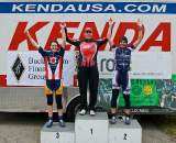 Meek (l), Borem and Dallaire on the elite women's podium. ? Jeffrey B. Jakucyk