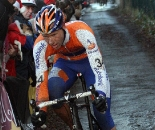 Gerben De Knegt was an early animator. 2009 Zolder Cyclocross World Cup. ? Bart Hazen