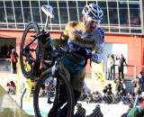 Bart Wellens is still coming back to form. 2009 Zolder Cyclocross World Cup. ? Bart Hazen