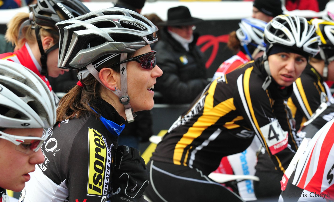 Looking optimistic at the start line in Zolder ©Kris Claeye