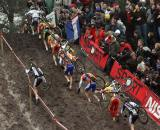 It was a tight race in Zonhoven, right down to the finish. ? Bart Hazen