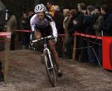 Albert corners on his way to fifth in Zonhoven. ? Bart Hazen