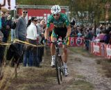 Sven Nys rode a strong race to second place.  © Bart Hazen