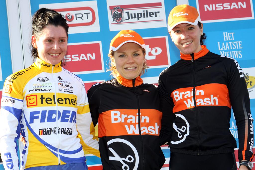 The podium of Paassen, Harris and Stultiens. © Bart Hazen