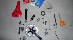 A few weeks' worth of shopping - Cyclocross parts