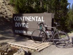 (Cyclo) Crossing the continental divide