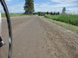 Where are the barriers? Dirt road riding in Montana