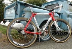 Joachim Parbo's Leopard Cycles Cyclocross Bike