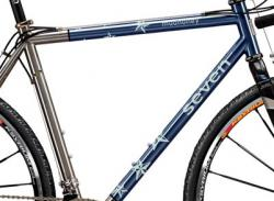 Cascade Bicycle Studio's Star Crossed Cyclocross Frame by Seven