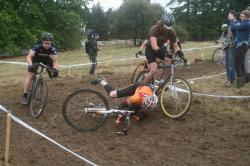 Slippery Mud at Alpenrose, by Dave Roth