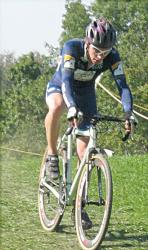 Ben Popper at Michigan's Double Cross Race, Day 1 by chimblysweep on flickr