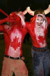 Canadian Fans at Star Crossed by Janet Hill