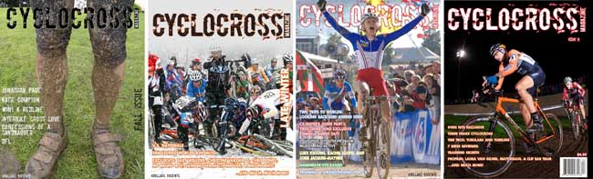 Cyclocross Magazine Covers 1-4