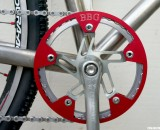 Chainring guards like the ones from BBG can provide insurance to keep your chain in place. © Cyclocross Magazine