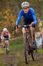 Christine Vardaros at Asper-Gavere Super Prestige, by Krist Vanmelle