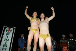 Everyone won, but these two got the golden Speedos, by Pat Bentson