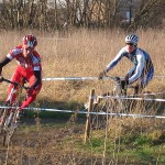 Tim Butler chasing first place in Belgian fields. by Sue Butler