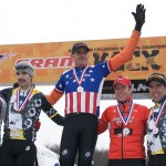 Elite Men's Podium, 2008 Cyclocross National Championships by Joe Sales