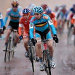 Tijmen Eising took the win in Roubaix, Photo by Joe Sales