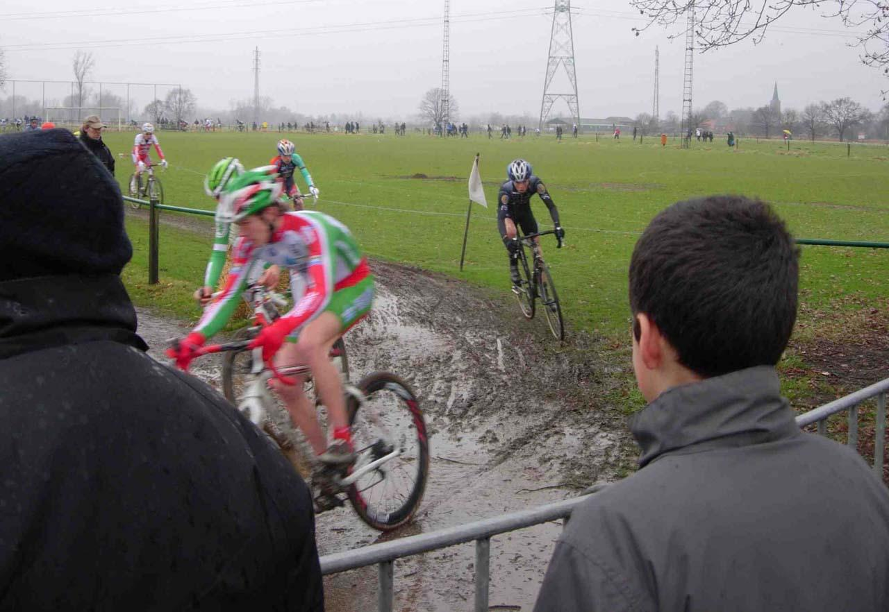 Belgian amateur racing: Less crowds but still muddy and very hard. by Henry Kramer