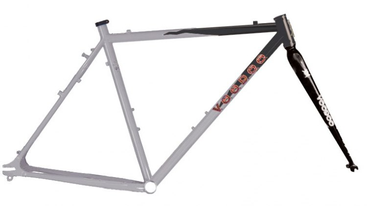 Voodoo Nakisi 2009 Fat Tire Cyclocross Frame - Photo: Courtesy Manufacturer