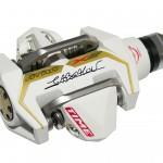 Time's white ATAC CX Abaslon Pedals. photo: courtesy Time