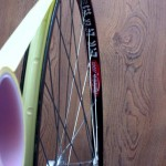 Seal your spoke holes with Stans or electrical tape