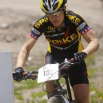 Katie Compton at the Teva Mountain Games. Photo by Mark Legg-Compton