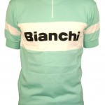 Bianchi's retro wool jersey in celeste arrives in time for 'cross.