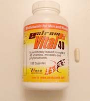 Extreme Vital 40 Supplement