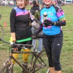 Beth Hamon (R) wins CXM's Race Report Contest #2. photo: courtesy Team Beer