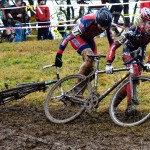 The icky, sticky, slippy mud at Granogue  Bill Schieken