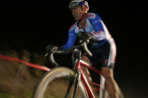 Training for cyclocross at night takes some special equipment. © Cyclocross Magazine