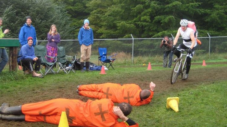Human Barriers were almost UCI height. © ironcladcycling