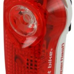 "COmmonly known as ""blinkies"", bright tailights are required by law in many areas. Photo Courtesy Planet Bike."