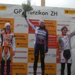 Wyman atop the podium in Wetzikon. © Stefan Wyman