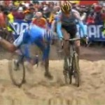 The over-the-bars sand crash, one of many
