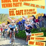 Tour of Flanders viewing party for jonesing cyclocross lovers